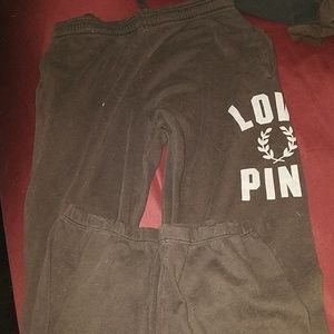 Victoria's secret pink sweat pants